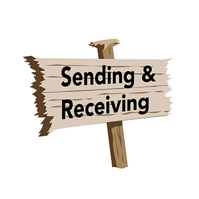 Sending and Receiving